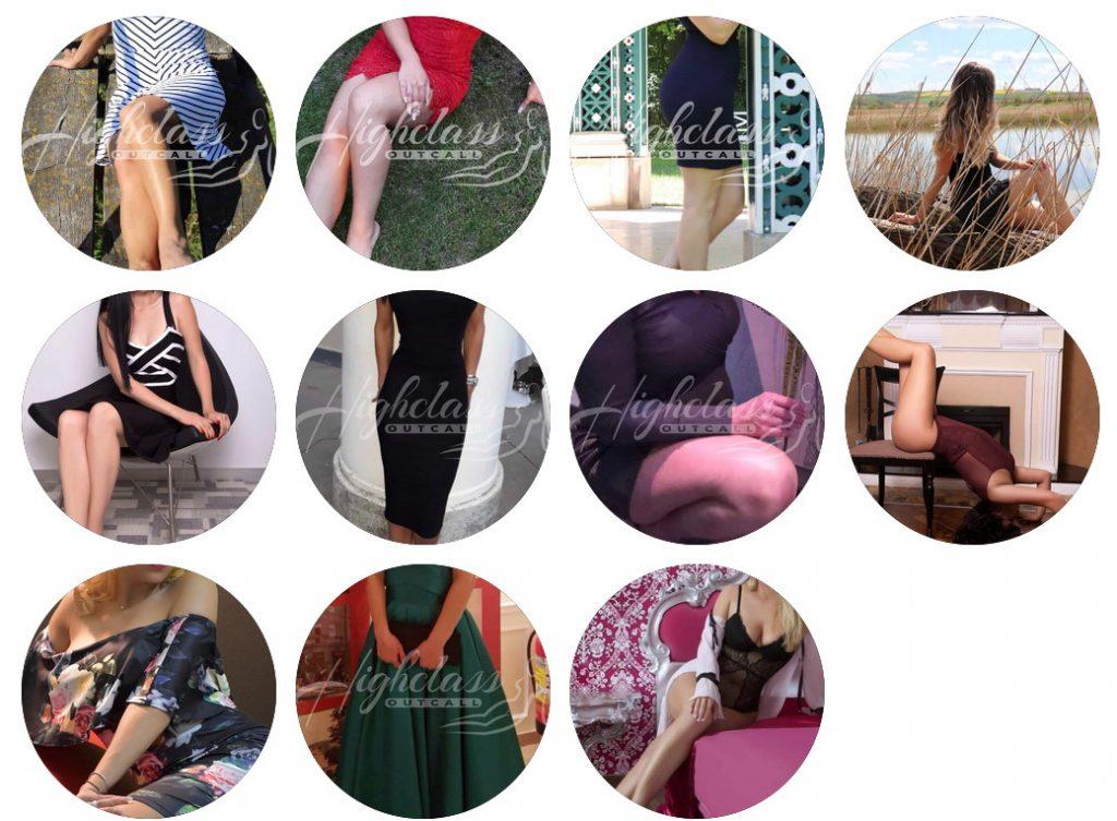 Ladies at our Escort Vienna Agency